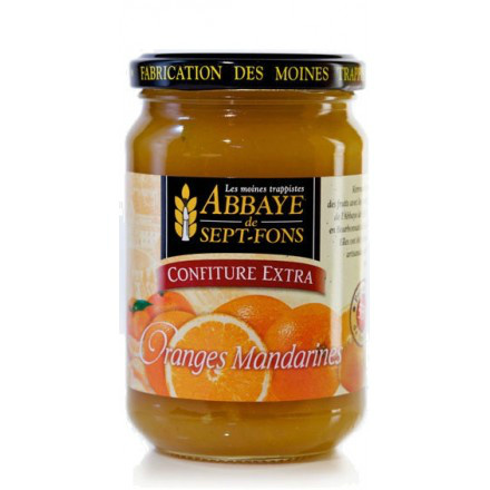SF53 CONFITURE EXTRA ORANGE-MANDARINES 370G