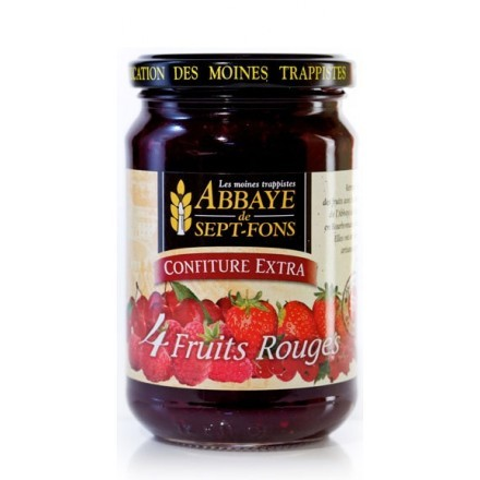 SF56 CONFITURE EXTRA 4 FRUITS ROUGES 370G