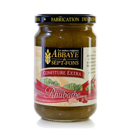 SF59 CONFITURE EXTRA RHUBARBE 370G